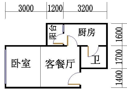 B栋22-29层02单位
