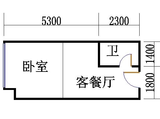 B栋22-29层11单位
