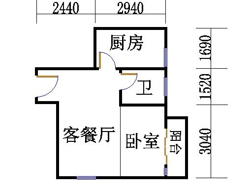 B栋22-29层17单位
