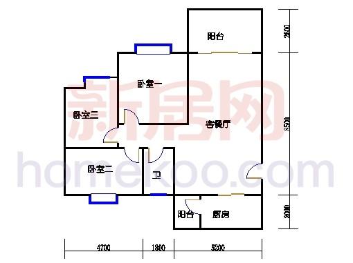 01a-1型5、9、8、12栋9-17单层01单元