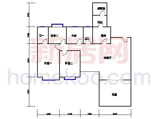 03型6、7、10、11栋2-16双层08单元