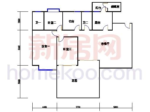 03b-1型5、6、7、8、9、10、11、12栋2-16双层03单元