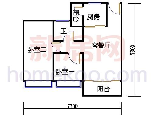 1栋6-18层04房