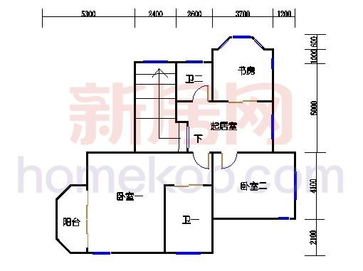 独立别墅C1-4型三层