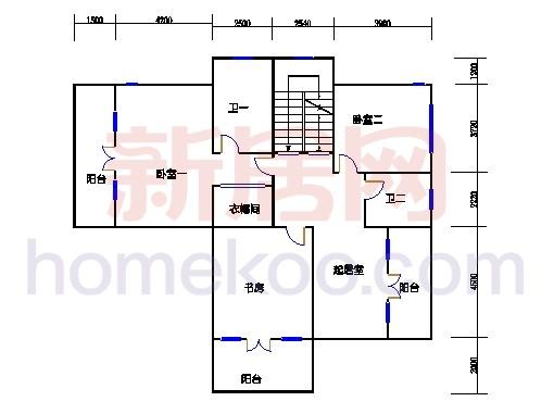独立别墅C1-5型三层