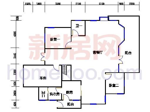 独立别墅C5-2型首层