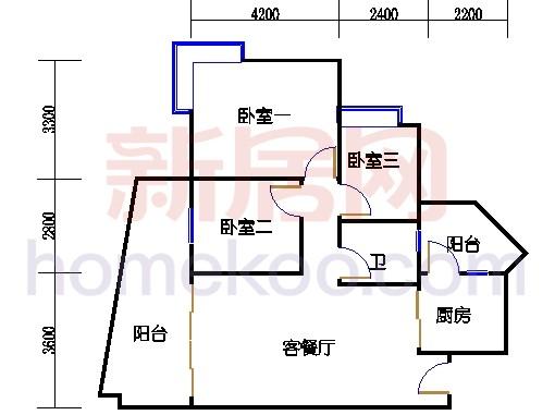 别墅全山景洋房6D栋01单元