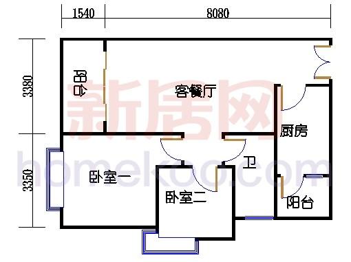 2D-5栋3-11层03单位