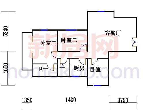 5-17层J户型