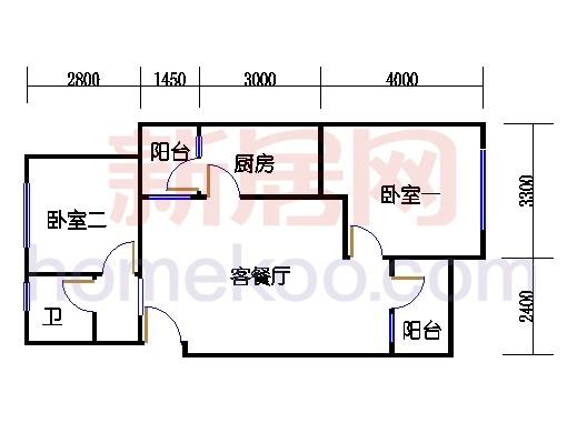 72号五层标准房501室