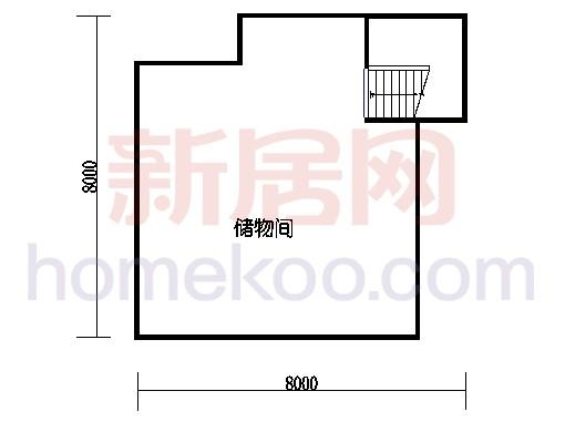 I3户型地下室
