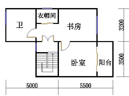 C户型三层