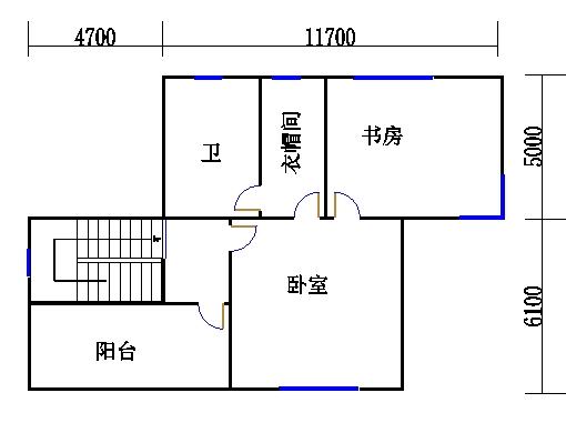 独栋别墅A6三层