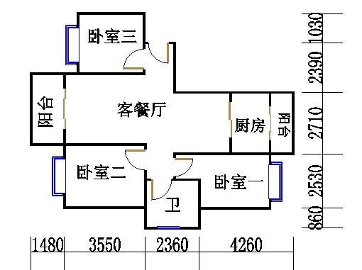 119号01室K-1、K-3型