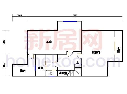 TypeB1地下室