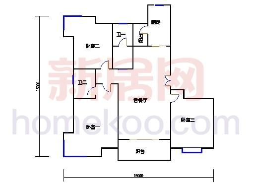 3Cb房型