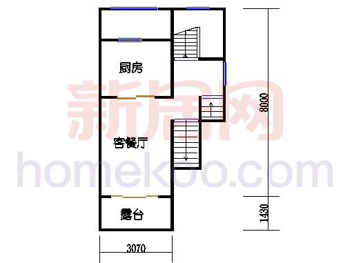 房型D一层