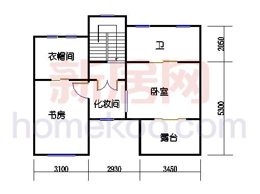房型D三层