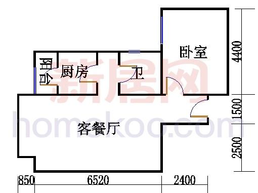 K03户型14(9)号楼