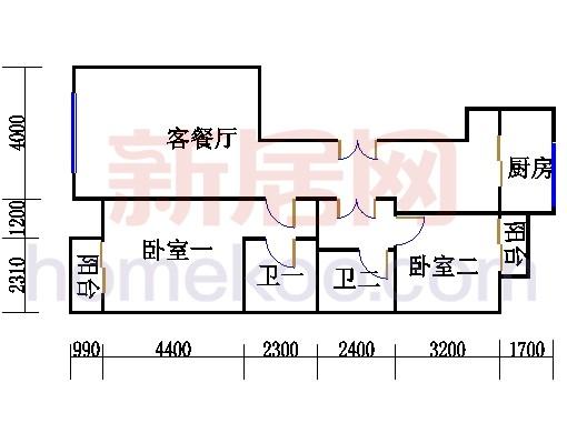 K02户型11(12)号楼