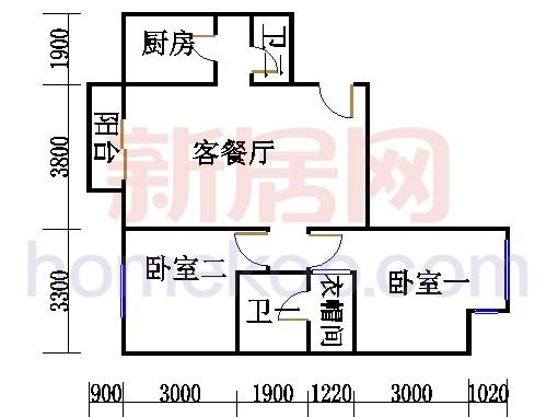 J05户型14(9)号楼