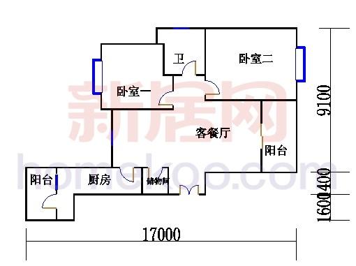 3.5.7.9.11.13.15层GH户型02