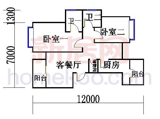 4.6.8.10.12层GF户型