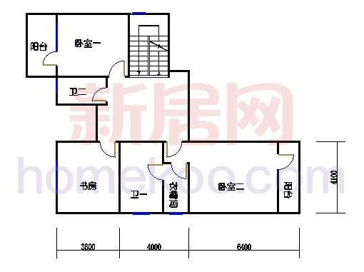A-N2户型二层