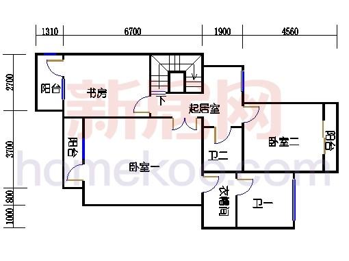 NB2单元多层情景公寓上层