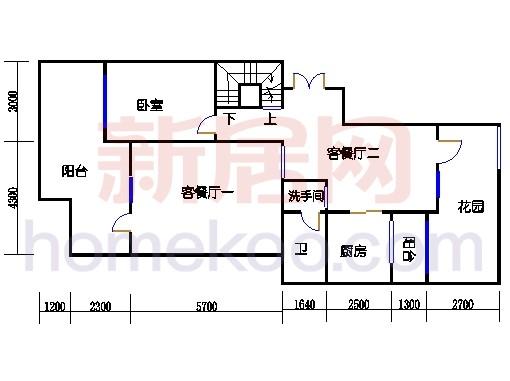 NB2单元多层情景公寓下层