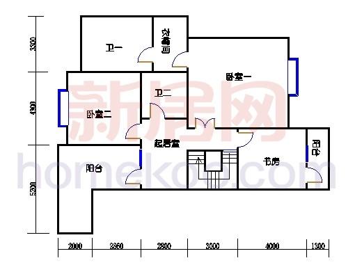 NB6单元多层情景公寓上层