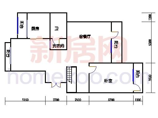 NB6单元多层情景公寓下层