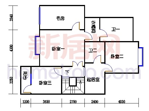 NB7单元多层情景公寓上层