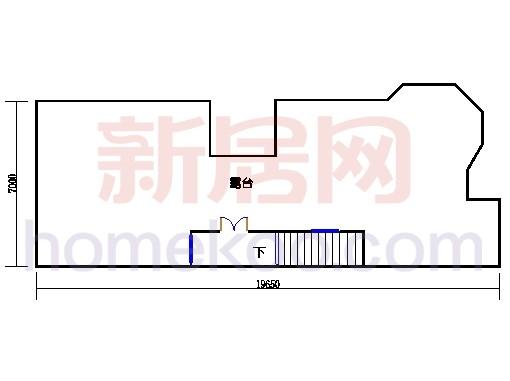 联排别墅E单位三层