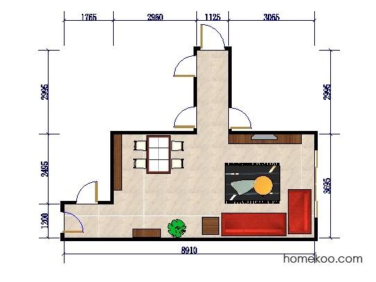 平面布置图乐维斯系列客餐厅G0447