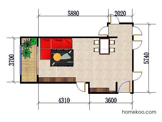 平面布置图乐维斯系列客餐厅G0448