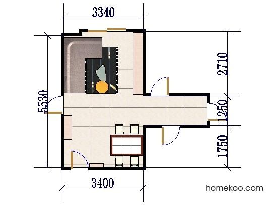 平面布置图斯玛特系列客餐厅G0526