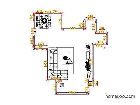 平面布置图乐维斯系列客餐厅G0558