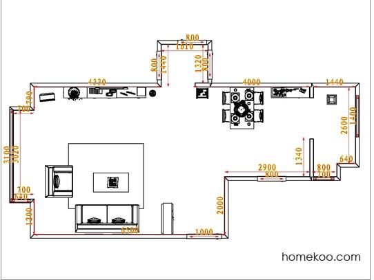 平面布置图斯玛特系列客餐厅G0566
