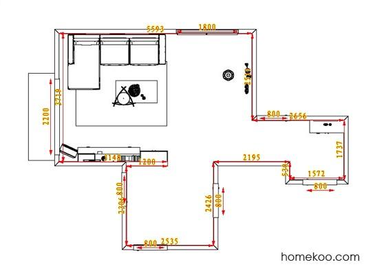 平面布置图斯玛特系列客餐厅G0573