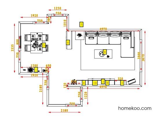 平面布置图格瑞丝系列客餐厅G0581