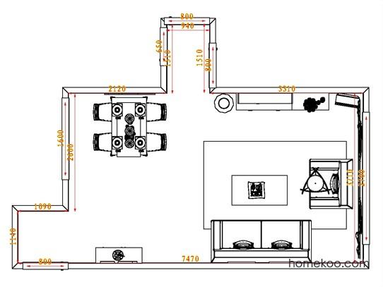 平面布置图贝斯特系列客餐厅G0620