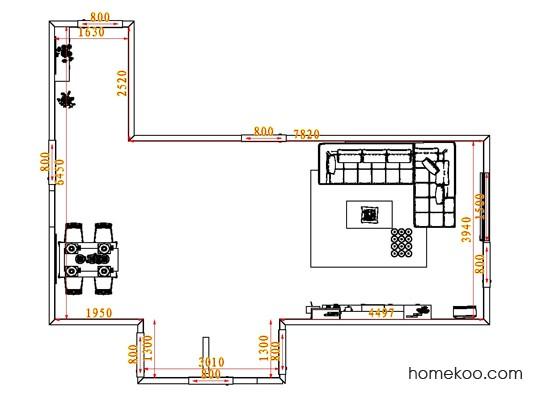 平面布置图贝斯特系列客餐厅G0622