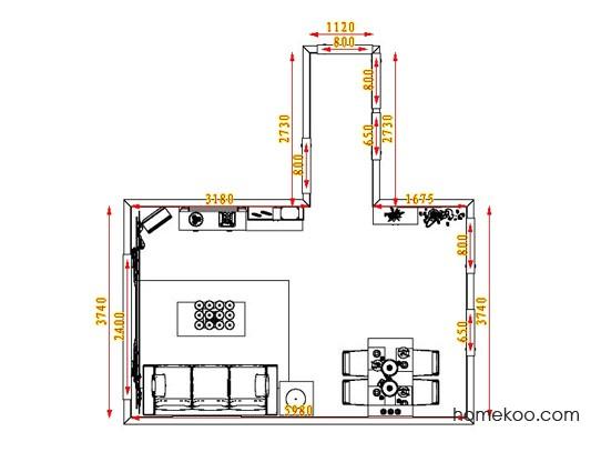 平面布置图乐维斯系列客餐厅G0634