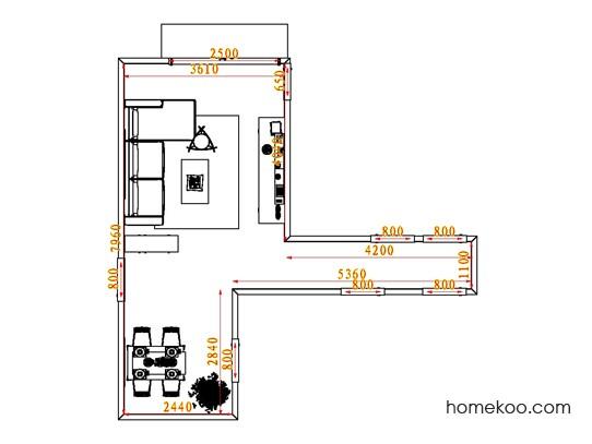 平面布置图乐维斯系列客餐厅G0671