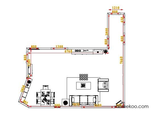 平面布置图斯玛特系列客餐厅G0684