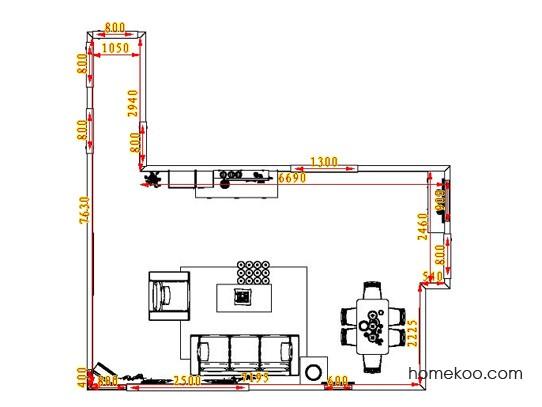 平面布置图乐维斯系列客餐厅G0685