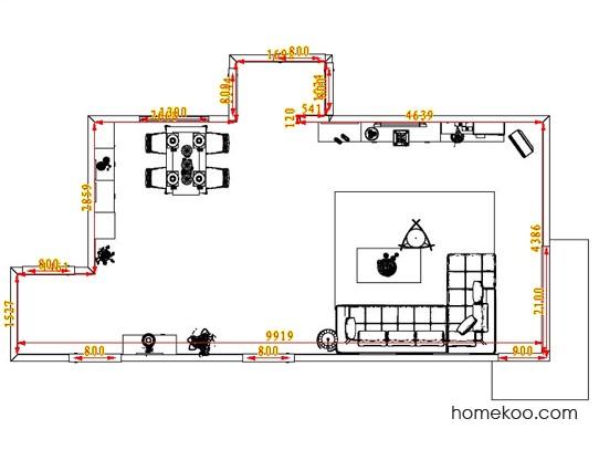 平面布置图乐维斯系列客餐厅G0710