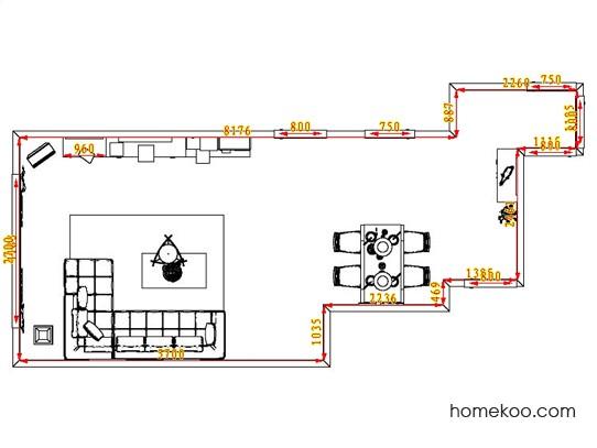 平面布置图柏俪兹系列客餐厅G0712