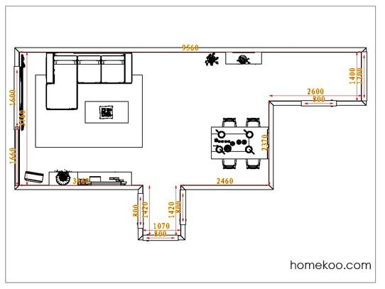 平面布置图乐维斯系列客餐厅G0746